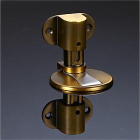 Hít chặn cửa nam châm kèm ốc vít và miếng dán 3M, chặn cửa HC112 bền chắc chống va đập cửa