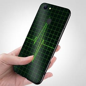 Ốp điện thoại dành cho máy Oppo F7 - Nhịp tim MS ACOTU001