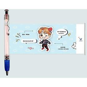 Bút kéo V BTS Bút kéo BTS V Jungkook Jimin mẫu mới