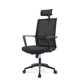 Ghế lưới văn phòng cao cấp, có tựa đầu điều chỉnh được độ cao, mã sản phẩm MWAH-007, MWAH-008
