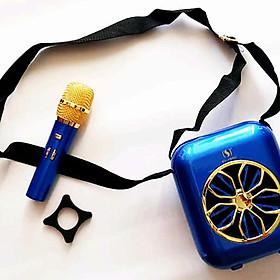 Loa bluetooth YS-A20 nghe nhạc hát karaoke có kèm Mic không dây
