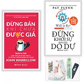 Combo 2 Cuốn: Đừng Khởi Sự Khi Còn Do Dự + Đừng Bán Khi Chưa Được Gía - Tặng kèm bookmark PD