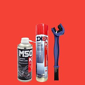 Combo dưỡng sên cao cấp nhập khẩu Đức Voltronic M50K Ceramic + Voltronic Ix69 + Bàn chải