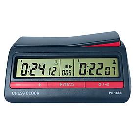 Đồng hồ thi đấu cờ PS-1688 (42 chế độ chỉnh thời gian) màu Xanh