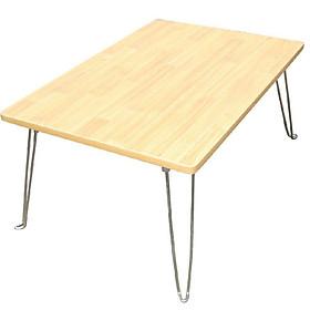 Bàn học sinh vân gỗ chân gấp xếp gọn