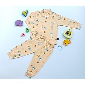 Bộ Minky Mom dài tay cao cổ cho bé ấm áp mua đông (5-20kg)