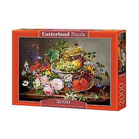 C200658 Đồ chơi ghép hình puzzle Still life 2000 mảnh Castorland