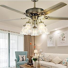 Đèn quạt UTIMA trang trí nội thất cổ điển - kèm bóng Led chuyên dụng