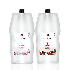 Duỗi - Uốn đa năng Livegain TSUBAKI 450+450ml Hàn Quốc