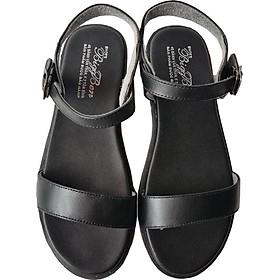 Giày Sandal Nữ BIGGBEN Da Bò Thật SDN34