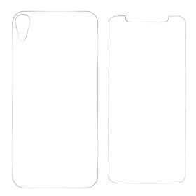 Screen Protector Glass Film Transparent Front+Back 9H Phone Skin Anti Fingerprint Radiation Protection