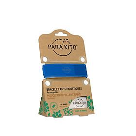 Viên chống muỗi PARA'KITO kèm vòng đeo tay bằng vải  màu xanh dương (loại 2 viên) -PCWB03