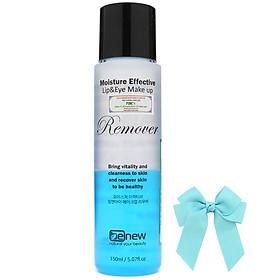 Nước tẩy trang sạch da không cồn Benew Hàn quốc (150ml) và nơ