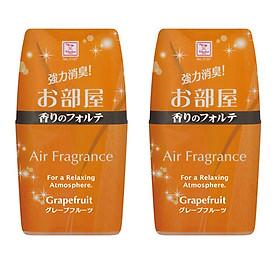 Combo 2 hộp khử mùi làm thơm phòng Air Fragrance hương bưởi 200ml nội địa Nhật Bản