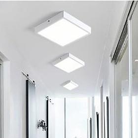 Đèn ốp trần nổi công suất 12W, 18W, 24W RIVEN loại vuông 2 màu ánh sáng hiện đại