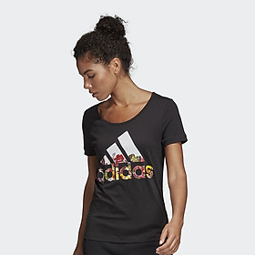 Áo Thun Thể Thao Nữ Adidas App Bos Flower Tee 250519