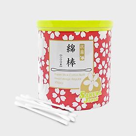 Tăm bông kháng khuẩn Sakura Nhật Bản - Tiêu chuẩn (Standard) - 200 que/hộp