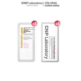 [Bộ sản phẩm trải nghiệm] Combo Tẩy tế bào chết và Kem chống nắng nâng tone CNP Laboratory