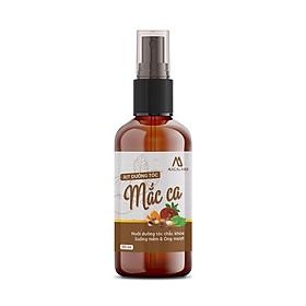 Xịt dưỡng tóc dầu Macadamia, tinh dầu Bưởi 50ml Macaland giảm rụng tóc và kích thích mọc tóc hiệu quả