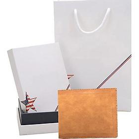 Ví da nam cao cấp có hộp túi làm quà tặng