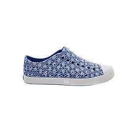 Giày Slipon Unisex Native AD JEFFERSON PRINT UV BLUE/ SHELL WHITE/ ASANOHA