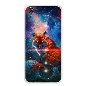 Ốp lưng dẻo cho điện thoại Vivo Y91C - 0005 FOX04 - Hàng Chính Hãng