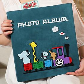 Album ảnh để 600 ảnh cỡ 10x15 và 9x13, album dạ cao cấp sang trọng