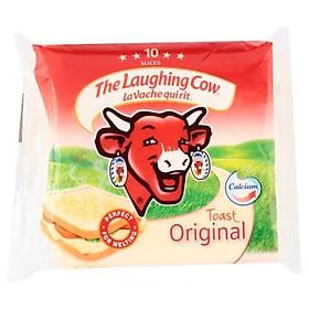 [Chỉ Giao HCM] - Phô Mai lát con bò cười Toast x32 - gói 200gr