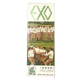 Bookmark Exo hộp ảnh tập ảnh đánh dấu sách kẹp sách tiện lợi 36 tấm dụng cụ học tập tặng ảnh thiết kế vcone