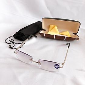 Kính lão thị gọng khoan KV4N hàng tốt chống UV mắt sáng và rõ kính viễn thị sẵn độ