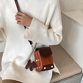 Túi đeo chéo Nữ nhỏ gọn đựng 2 điện thoại - TN032