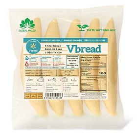 [Chỉ Giao HCM] - Bánh Mì 5 Sao VBREAD GLOBAL MALLS - 300gr