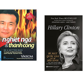 Combo 2 cuốn sách: Nghiệt Ngã & Thành Công + Hillary Clinton - Bí Mật Quốc Gia Và Sự Hồi Sinh