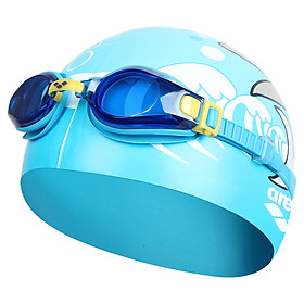 Bộ Mũ + Kính Bơi Trẻ Em Arena AGG360JST-BLU