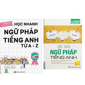 Combo 2 cuốn : Học nhanh ngữ pháp tiếng anh từ A-Z + Giải thích ngữ pháp tiếng anh ( Tặng kèm giá đỡ điện thoại iring cute)