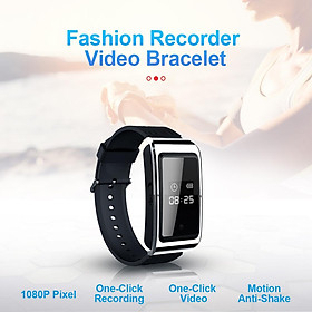 D6 Smart Watch Abs Material 1080p High-definition Portable Bracelet Recorder