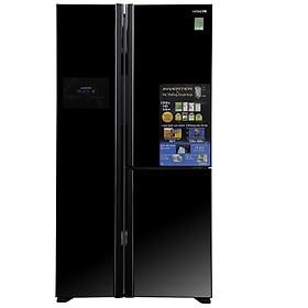 Tủ Lạnh Hitachi Inverter 600 lít R-FM800PGV2-GBK - Hàng Chính Hãng + Tặng Bình Đun Siêu Tốc