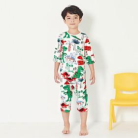 Bộ đồ ngủ bé trai hình khủng long UNFRIEND Hàn Quốc UNI0739