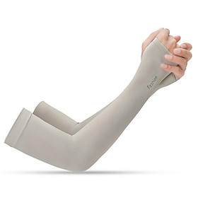 Ice Silk Sun Protection Sleeve Sunscreen Arm Cover For Outdoor Riding Activities