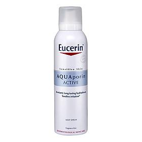 Bộ Kem Chấm Đốm Nâu Eucerin White Therapy Clinical Spot Corrector (5ml) Và Xịt Khoáng Chống Lão Hóa Eucerin Aquaporin Active (150ml)