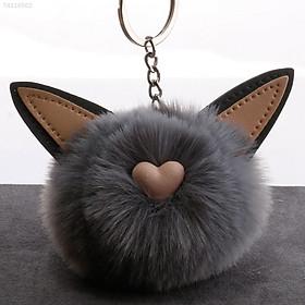 Móc Khóa Hình Mèo Dễ Thương