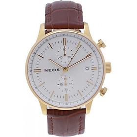 Đồng hồ Neos N-50551M nam dây da