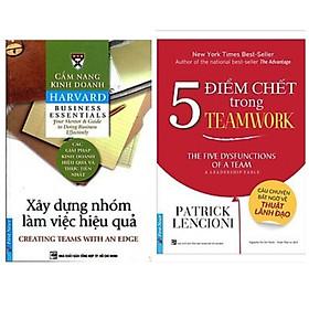 Combo 2 cuốn kỹ năng làm việc:Xây Dựng Kỹ Năng Làm Việc Nhóm Hiệu Quả+5 Điểm Chết Trong Teamwork