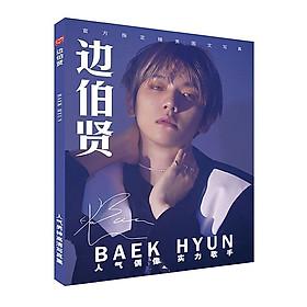 Photobook BAEK HUYN EXO khổ A4 tặng vòng tay may mắn