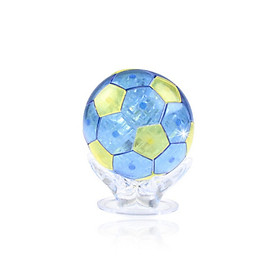 3D Decoration Model Toy Crystal Puzzle Game Toy Football Cup For Kids Adults Gadget Blocks Building