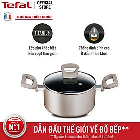 Nồi chống dính đáy từ Tefal Sensations H9104614 24cm - Hàng chính hãng