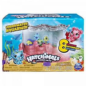 Hatchimals bộ bể cá thủy cung S5 SPIN MASTER 6046796