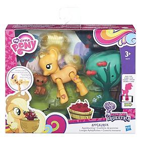 Mô Hình EE - Pony Bánh Táo My Little Pony B5674/B3602 (Có Thể Cử Động Khớp)