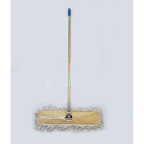 Cây lau sàn nhà, cây chổi lau khô công nghiệp bản to xoay 180 độ PL 120cm