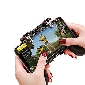 Tay Cầm Game Nút Chơi Game H1 Có Nút Chơi PUBG Cho Điện Thoại Pubg, Ros, Free Fire Controller